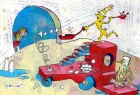 The Breakfast-Mobile -- A Tribute to Dr. Seuss
