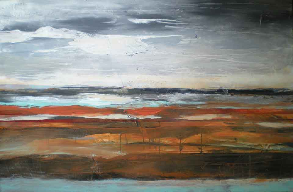 Abstract-landscape-sienna