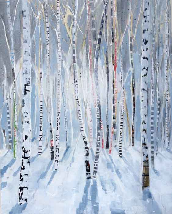 Birch Woods in Winter