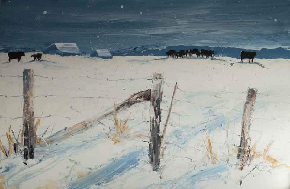 Cows-in-Winter